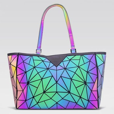 Star Pattern Holographic Bag